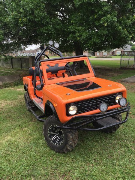 Ford Bronco Ez Go Mudbug Golf Carts